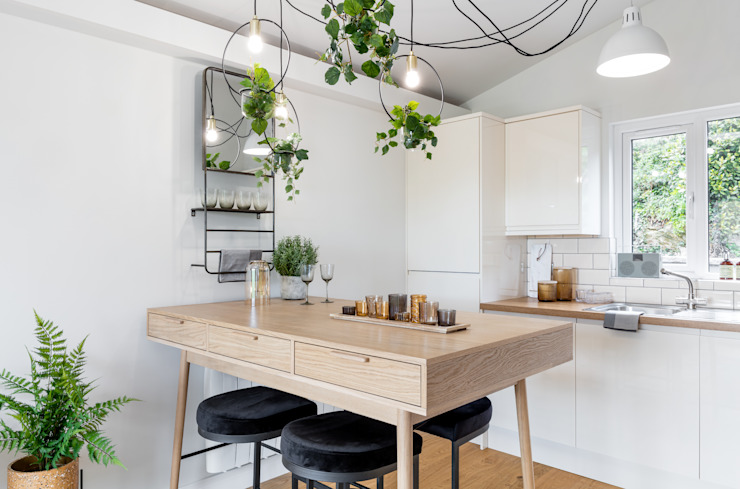 WN Interiors + WN Store Scandinavian style kitchen
