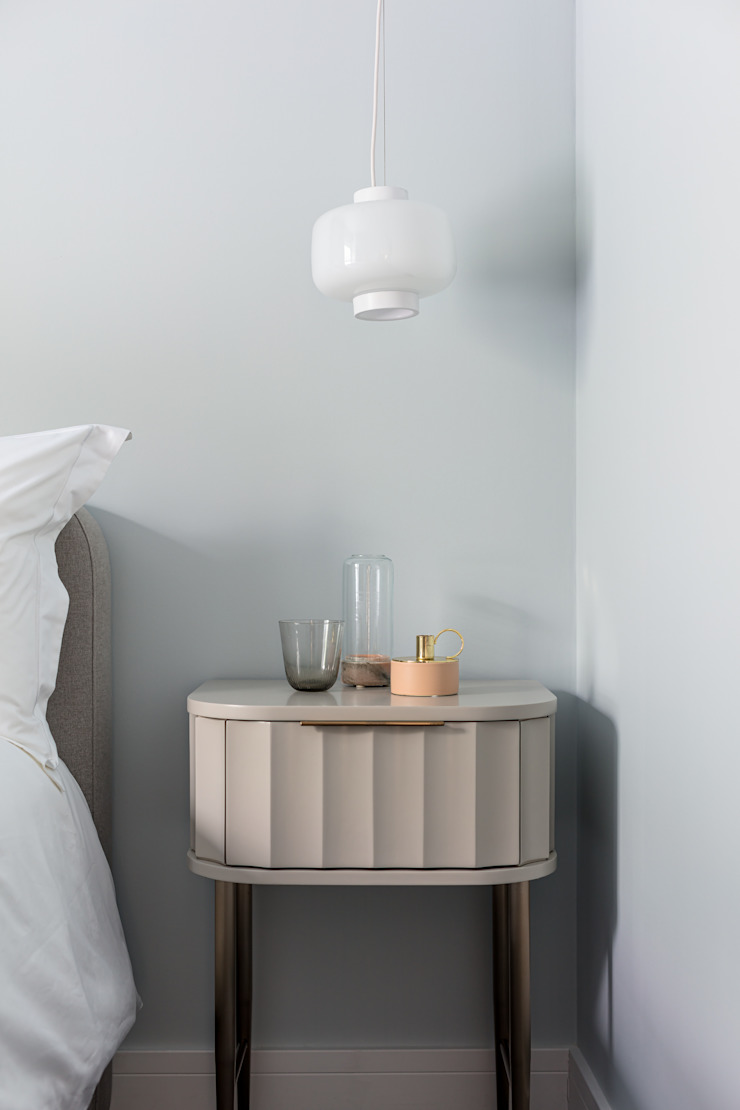 WN Interiors + WN Store Scandinavian style bedroom