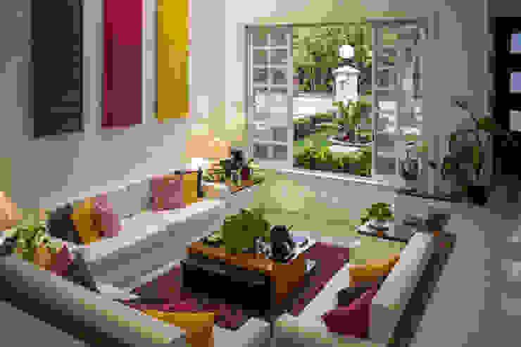 Casa B4: Salas de estilo  por Arquigraph | arquitectura + diseño,