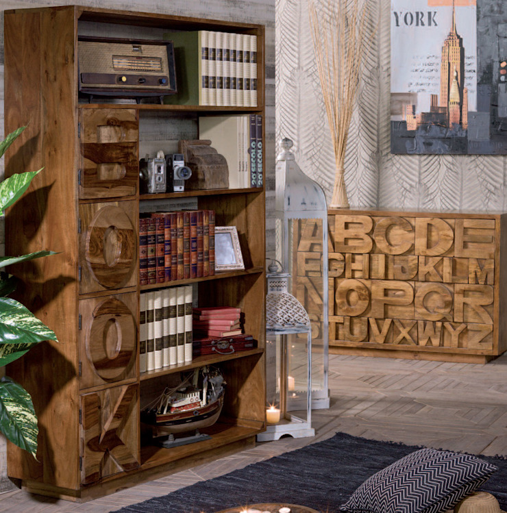 Foto Di Librerie Moderne.Librerie Etniche Moderne By Nuovimondi Di Flli Unia Snc Homify