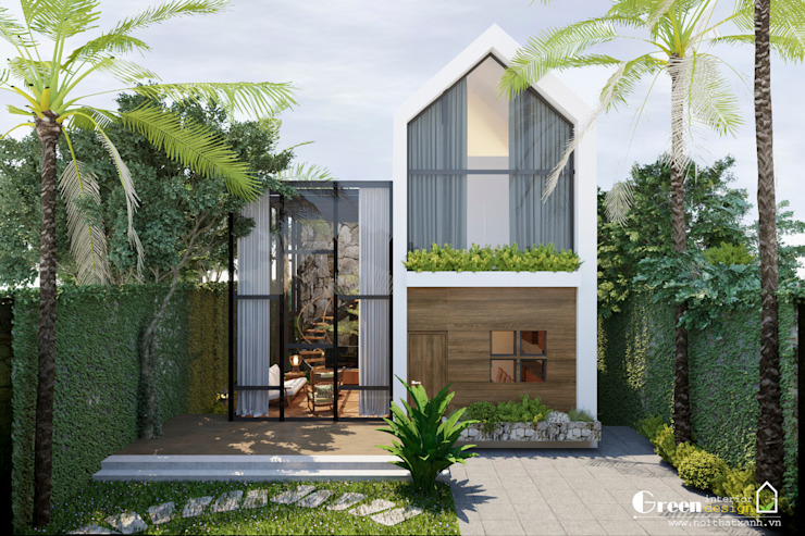Modern houses by Green Interior Modern