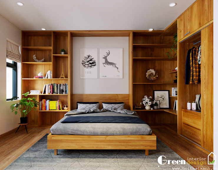 Green Interior 臥室