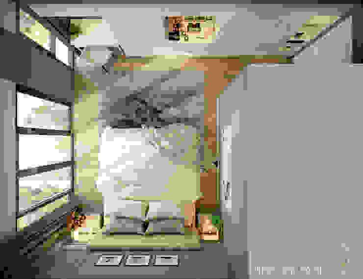 BIỆT THỰ TRÀN NGẬP MÀU SẮC TẠI ECOPARK: hiện đại  by Green Interior, Hiện đại