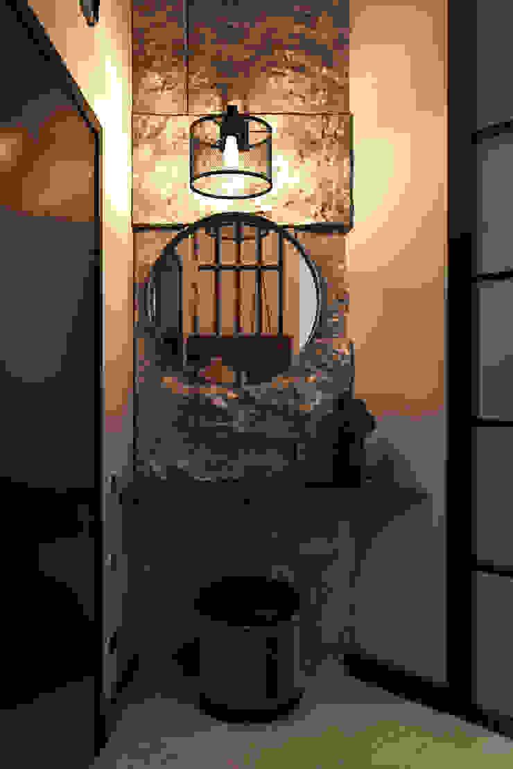 Pasillos, vestíbulos y escaleras industriales de Zibellino.Design Industrial