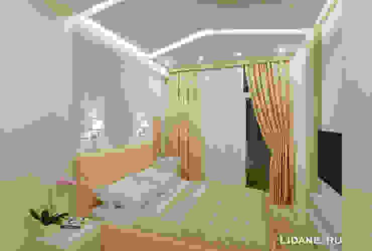 غرفة نوم تنفيذ Lidiya Goncharuk , تبسيطي