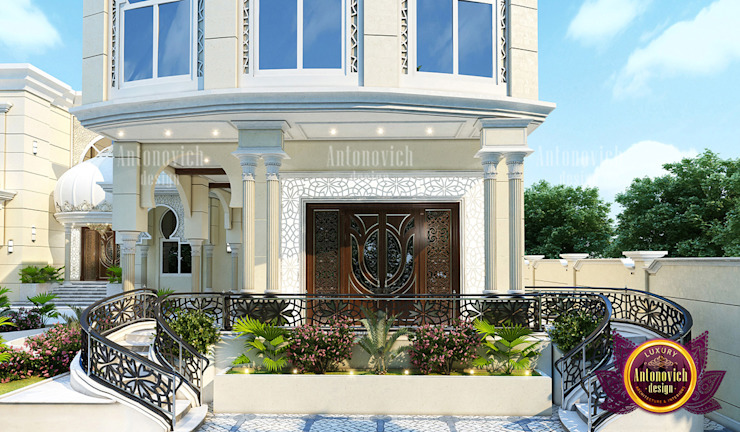 Extraordinary Exterior Design Ideas by Luxury Antonovich Design