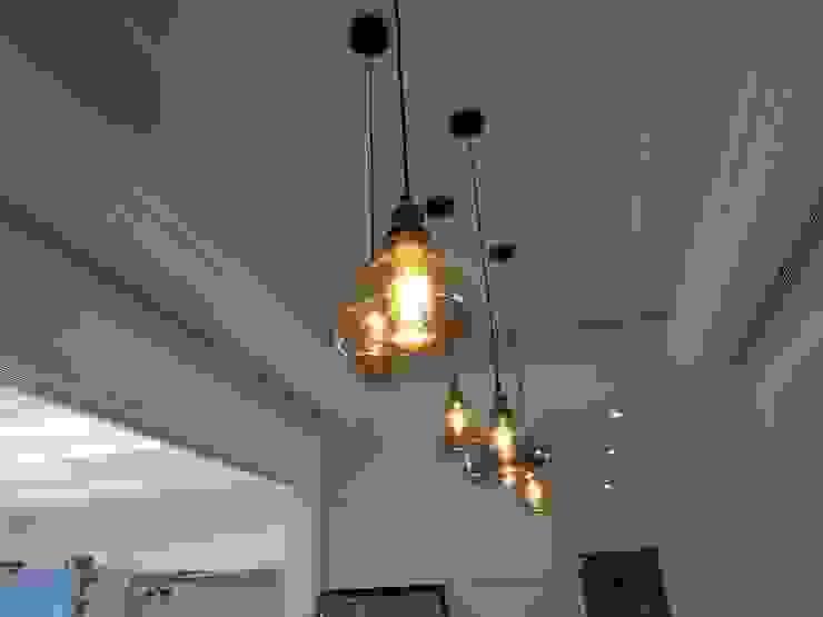 餐廳吊燈 根據 houseda 工業風 玻璃