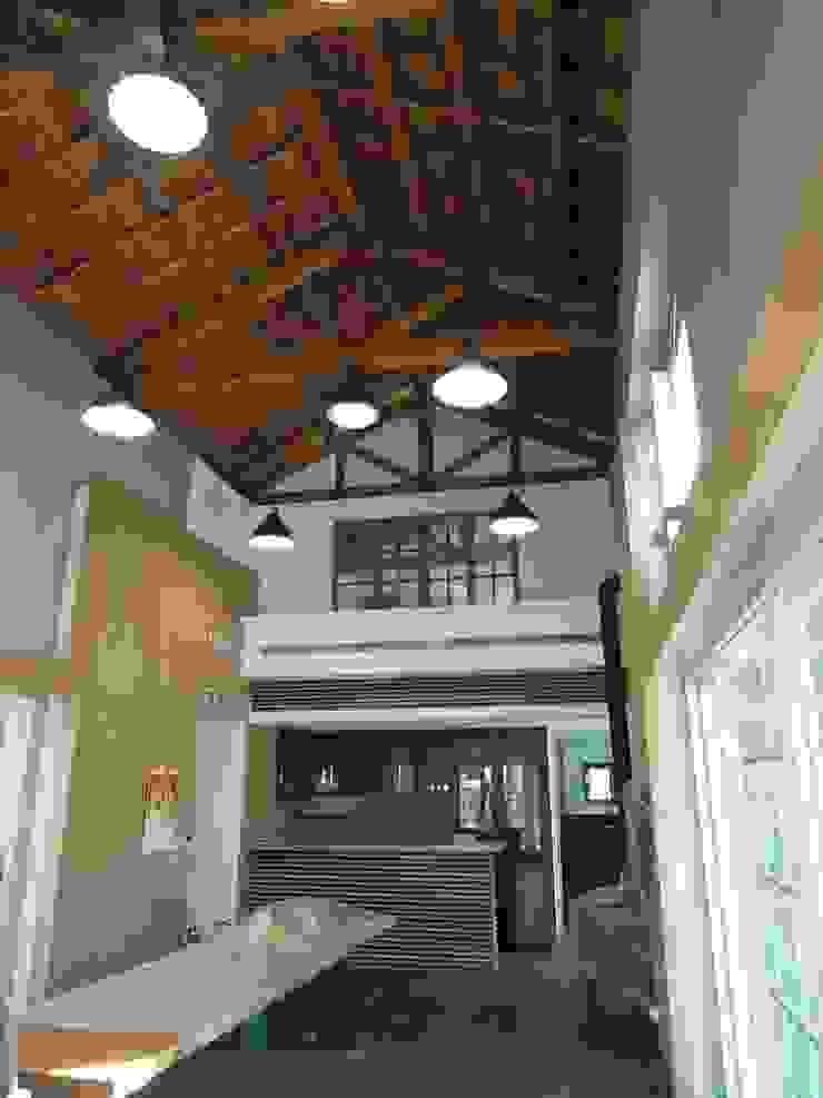 交誼廳 根據 houseda 鄉村風 木頭 Wood effect