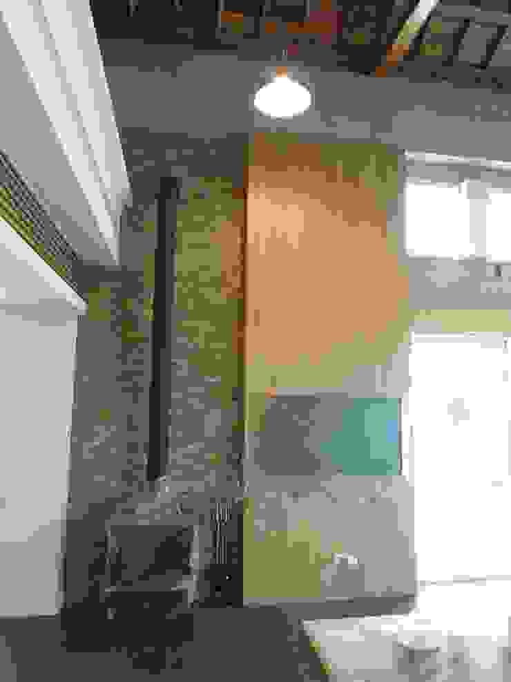壁爐 根據 houseda 鄉村風 鐵/鋼