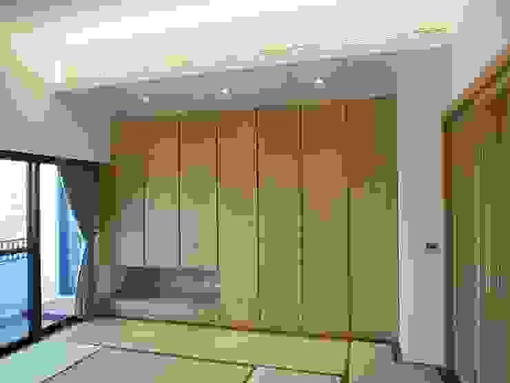 和室 根據 houseda 日式風、東方風 合板