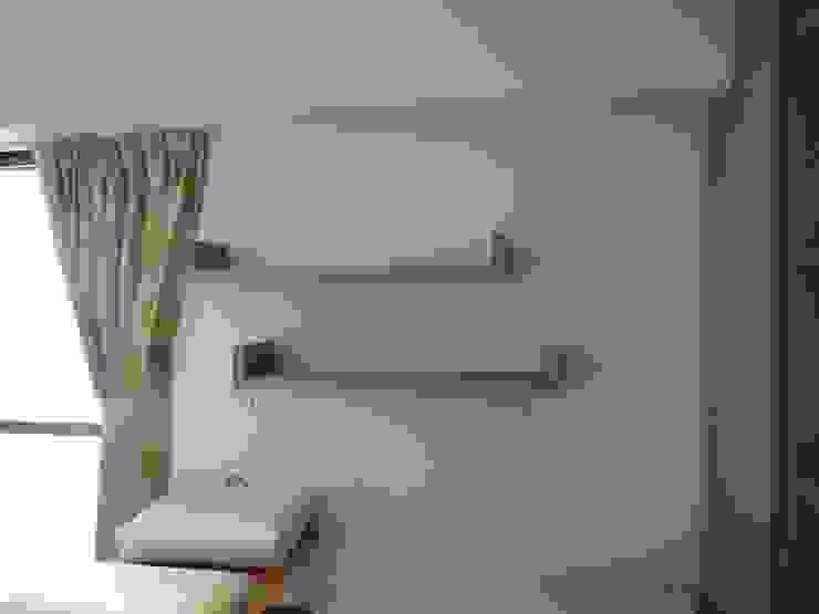 懸浮書架 根據 houseda 鄉村風 合板