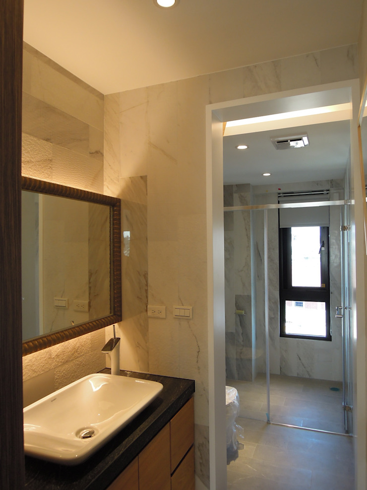 公用衛浴 根據 houseda 鄉村風 磁磚