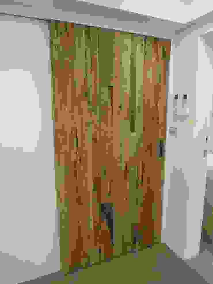 酒窖拉門 根據 houseda 鄉村風 木頭 Wood effect