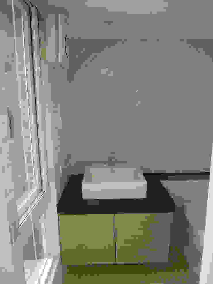 地下室衛浴 根據 houseda 鄉村風 磁磚
