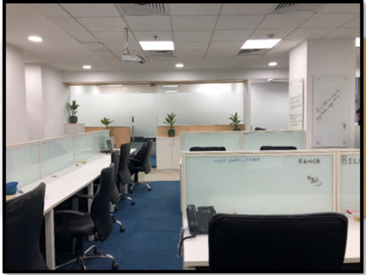 Workstation:  Offices & stores by Ecoinch Services Private Limited,Modern