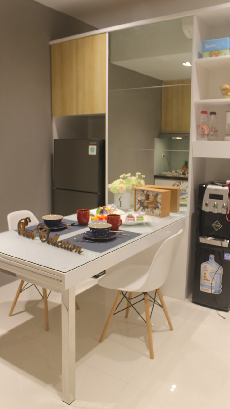 Lexington apartment Dapur Modern Oleh POWL Studio Modern