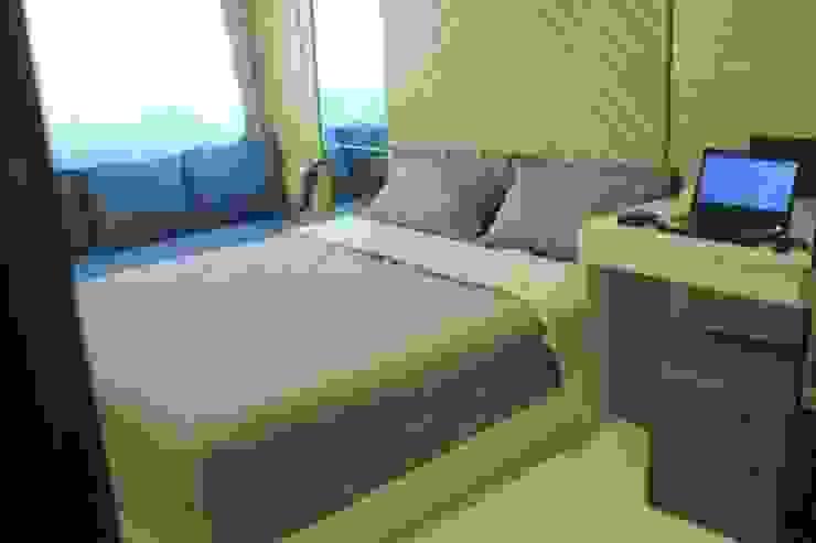 Lexington apartment Kamar Tidur Modern Oleh POWL Studio Modern