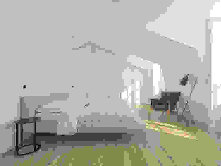 Minimalist bedroom by martimsousaemelo Minimalist Wood Wood effect