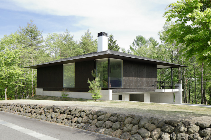 bởi atelier137 ARCHITECTURAL DESIGN OFFICE Hiện đại Gỗ Wood effect