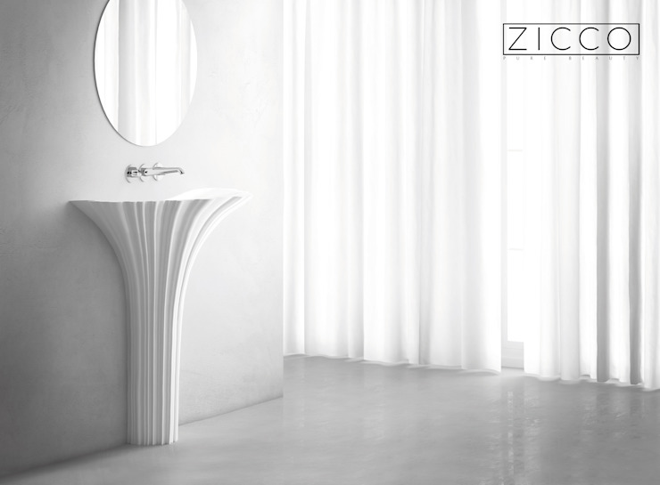 ZICCO GmbH - Waschbecken und Badewannen in Blankenfelde-Mahlow Centros de exhibiciones Mármol Blanco