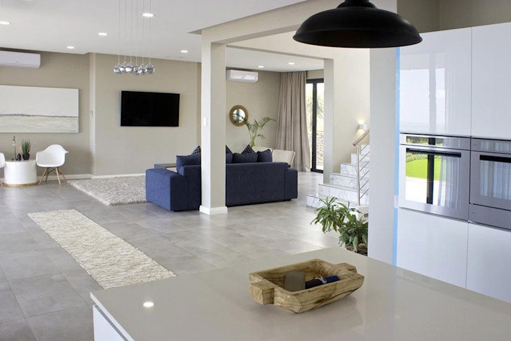 Overview of Living Area by Barnard & Associates - Architects Minimalist