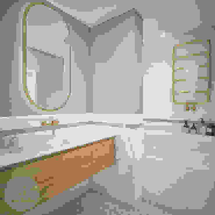Skandinavische Badezimmer von Nevi Studio Skandinavisch