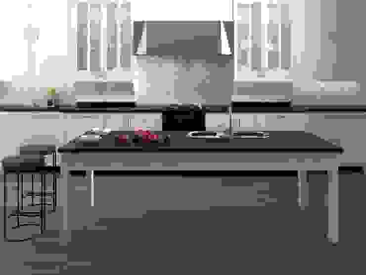 Interceramic MX Kitchen Ceramic White