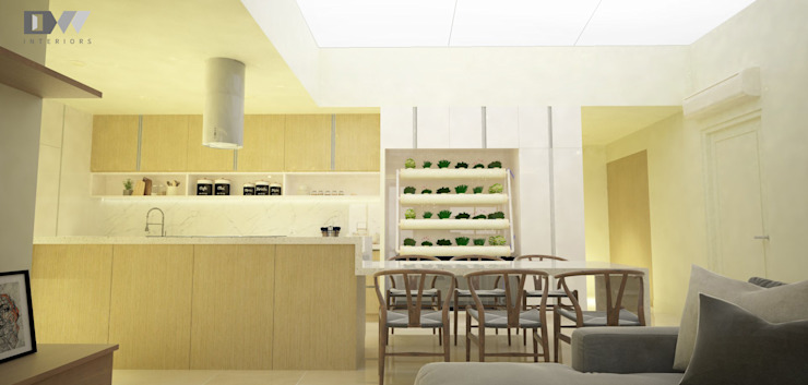 Kitchen & Dining by DW Interiors Minimalist