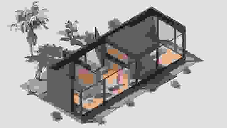Ampliaciones y Remodelaciones Dormitorios de estilo moderno de Comercial Ébano Spa Moderno