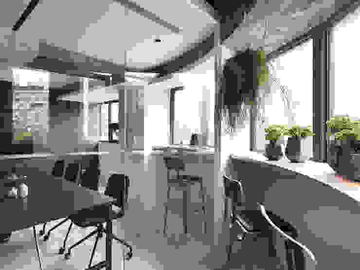BAR AREA 根據 物杰設計 工業風 合板
