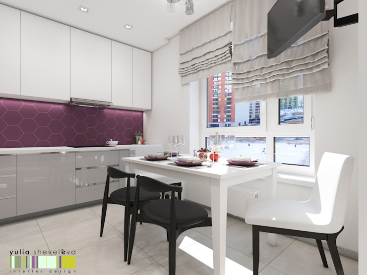 Modern Kitchen by Мастерская интерьера Юлии Шевелевой Modern