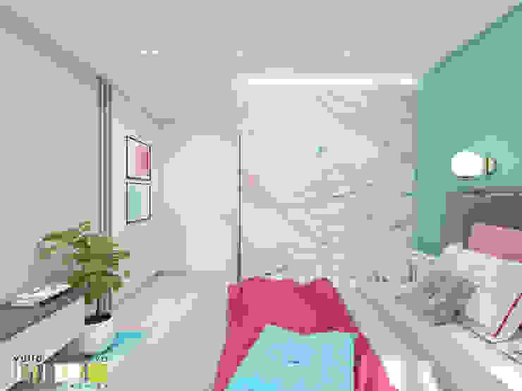 Modern Bedroom by Мастерская интерьера Юлии Шевелевой Modern