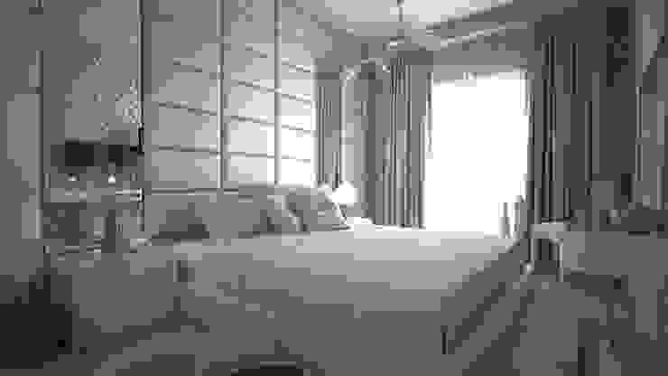 Sinpaş Marina Projesi | Misafir Yatak Odası HAZER INTERIOR DESIGN STUDIO Modern Yatak Odası