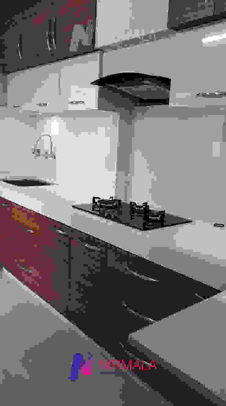 Nirmala Architects & Interiors KitchenCabinets & shelves