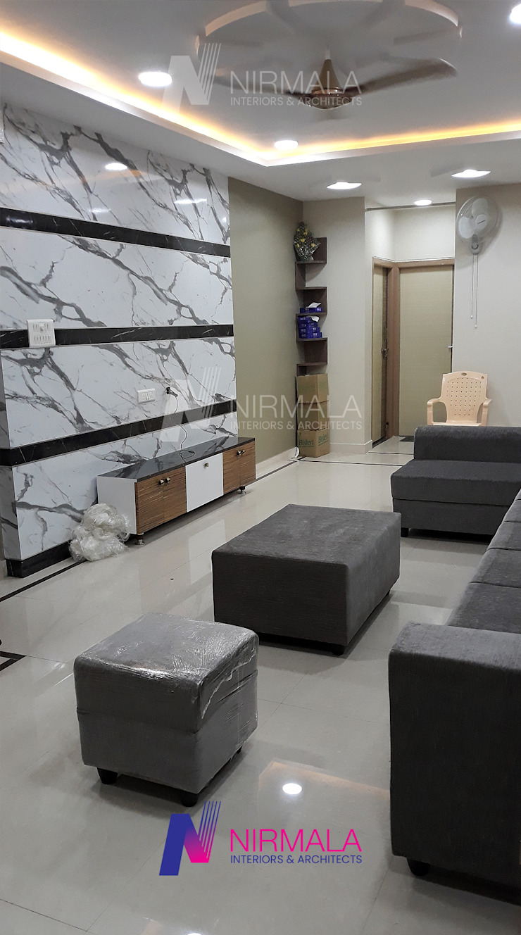 Nirmala Architects & Interiors Living roomTV stands & cabinets