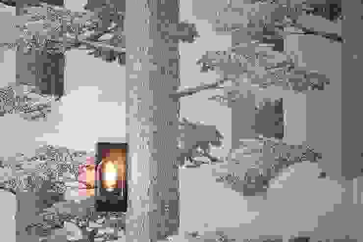 桂田擎天樹-灰之境 根據 樸木聯合建築師事務所 現代風