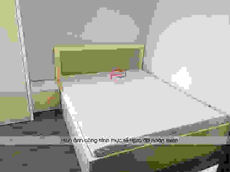 Hình ảnh thực tế không gian phòng ngủ bé gái nhà anh Long - Nguyễn Đức Cảnh: hiện đại  by Nội thất Hpro, Hiện đại