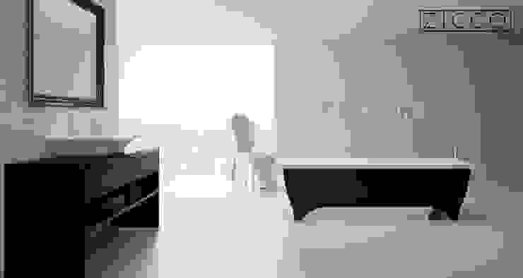 ZICCO GmbH - Waschbecken und Badewannen in Blankenfelde-Mahlow Pusat Eksibisi Gaya Eklektik Marmer Black