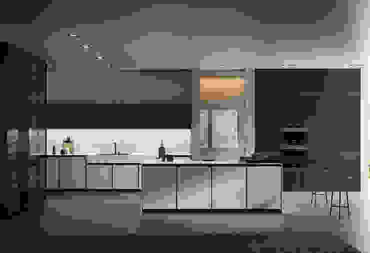 Cucina bianca: Cucina in stile  di L&M design di Marelli Cinzia,