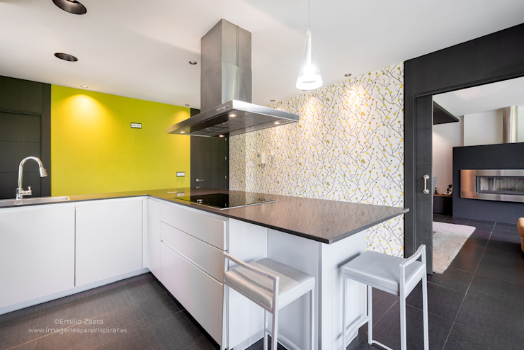 arQmonia estudio, Arquitectos de interior, Asturias Kitchen units