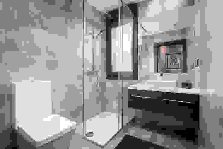 Baño. Baños modernos de arQmonia estudio, Arquitectos de interior, Asturias Moderno