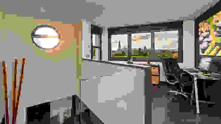 Home Office.: Estudios y despachos de estilo  de arQmonia estudio, Arquitectos de interior, Asturias,