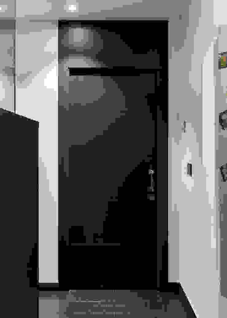 arQmonia estudio, Arquitectos de interior, Asturias pintu dalam