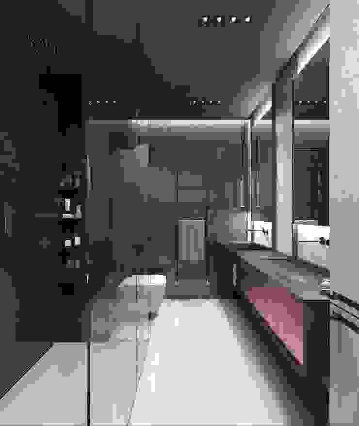 Modern bathroom by Studio architektury Loci Modern Tiles