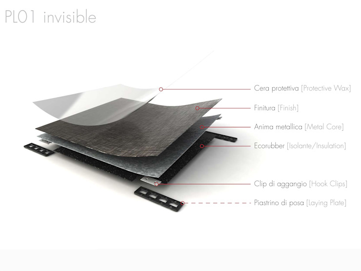 PL01 Invisible Floor:  in stile  di Planium,
