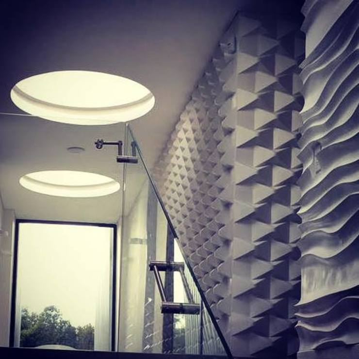 Modern walls & floors by O+C674 Arquitectos Modern