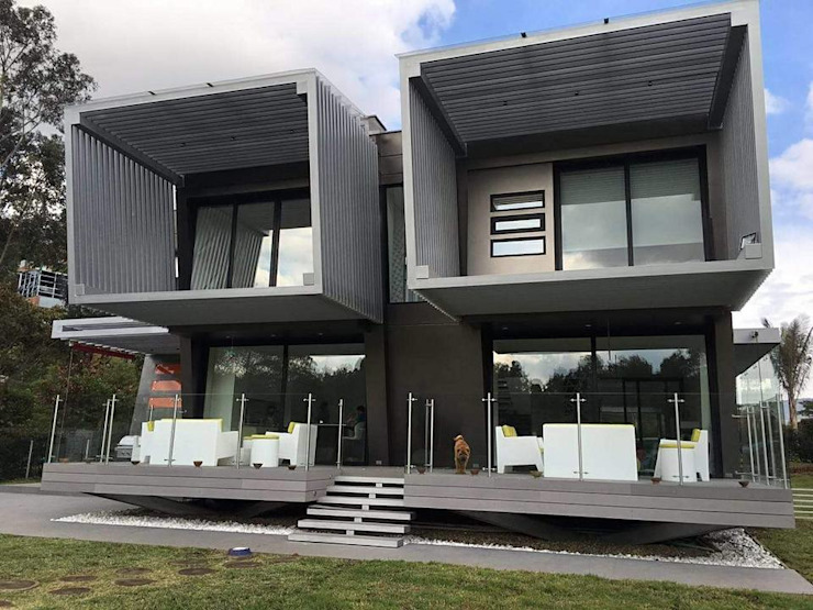 Modern houses by O+C674 Arquitectos Modern