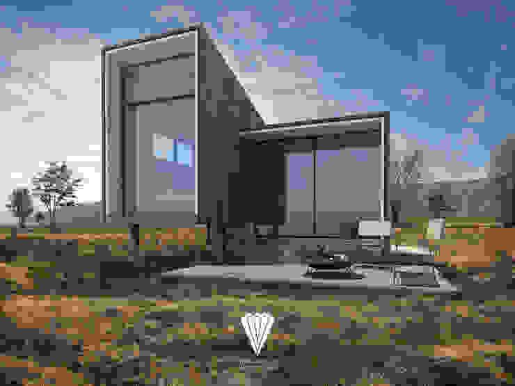 Ecoloft tipo 2: Casas ecológicas de estilo  por Diamante Arquitectura,
