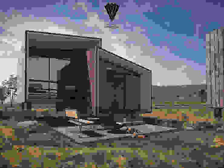 Ecoloft tipo 1: Casas ecológicas de estilo  por Diamante Arquitectura,