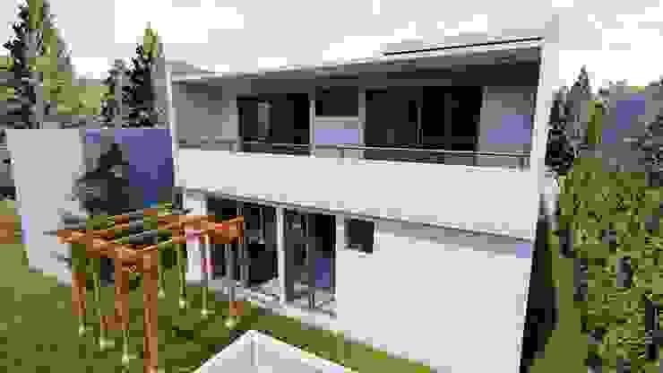 vista trasera de Dubrovsky Arquitectura Moderno